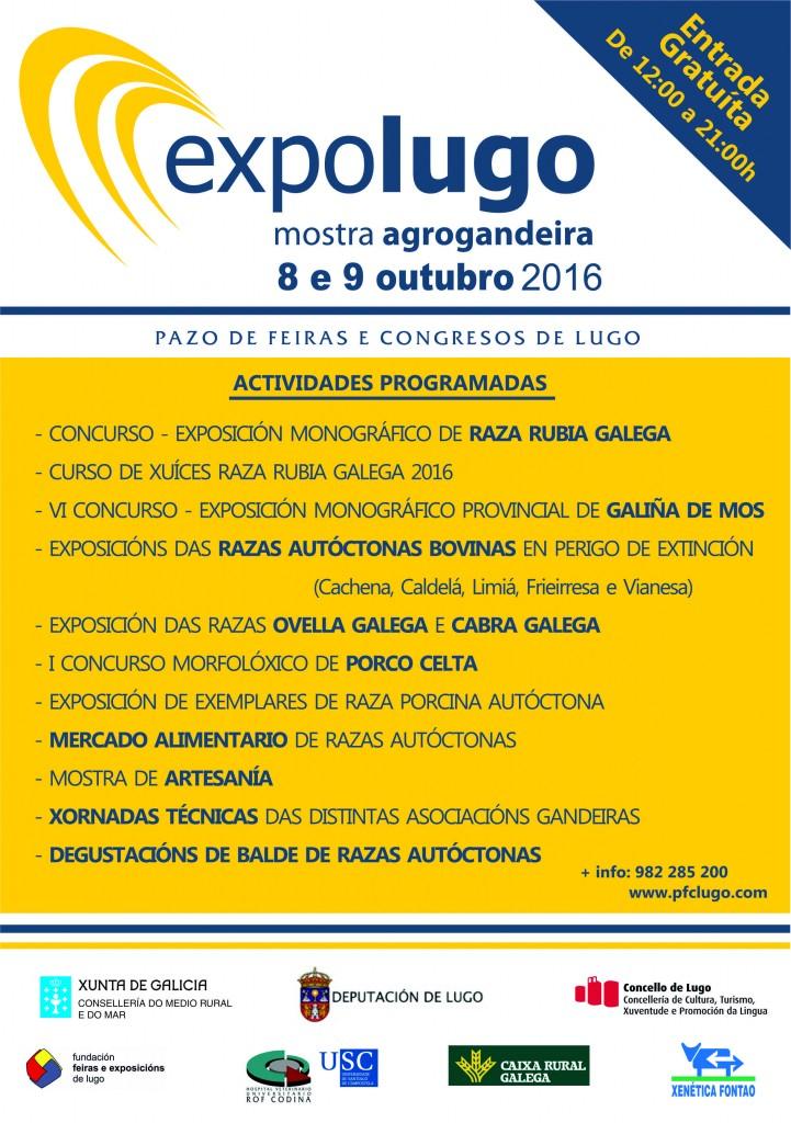 Cartel - Programa - Expolugo 2016
