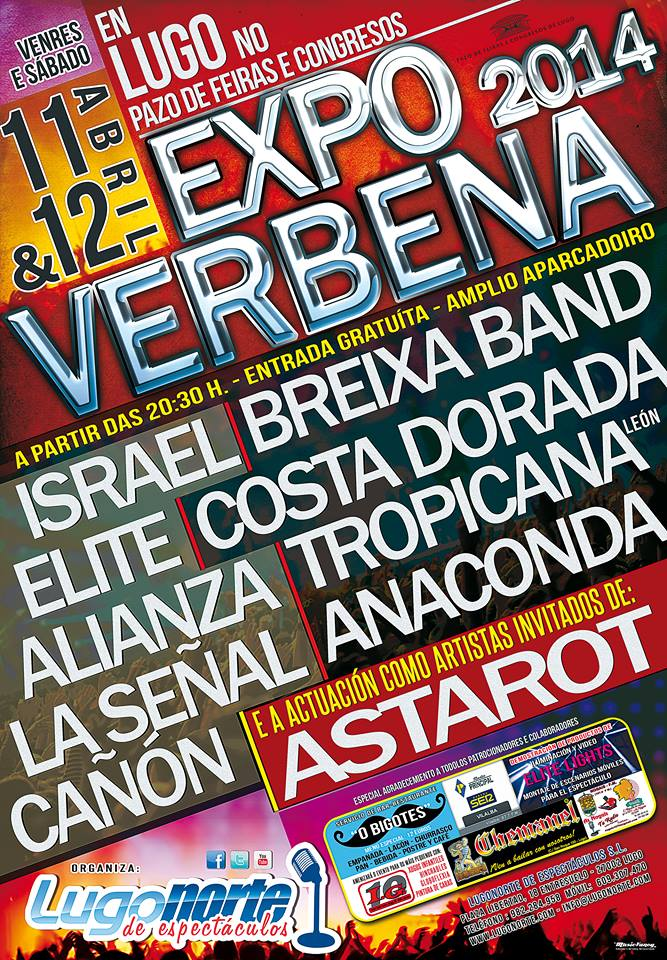 cartel expoverbena